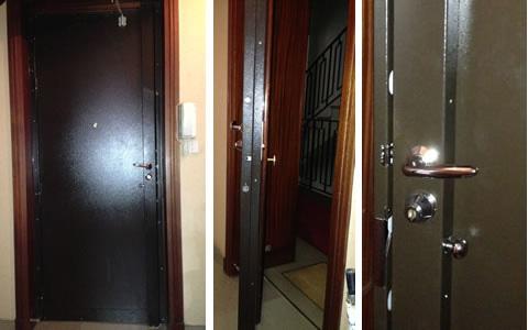 blindage de portes existantes chez isol conseil pr s de lyon. Black Bedroom Furniture Sets. Home Design Ideas